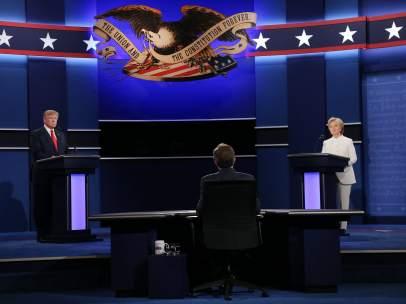 Debate entre Trump y Clinton
