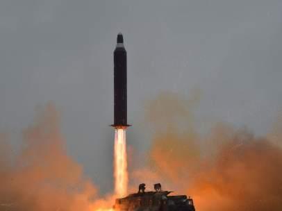 Lanzamiento de un misil de Corea del Norte