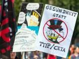 Protestas contra el CETA y el TTIP