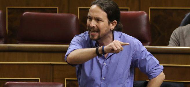 Enfado de Pablo Iglesias