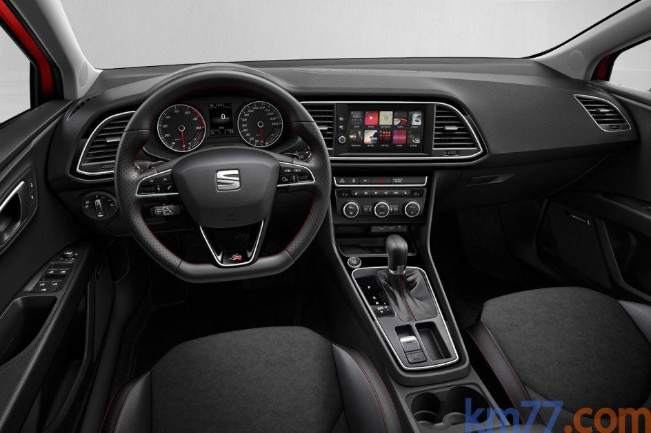 Interior del SEAT León