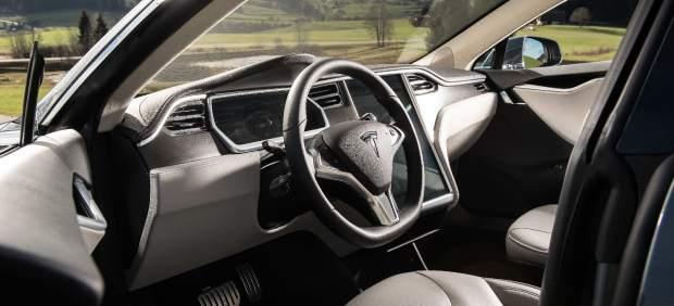 Aspecto interior de un Tesla