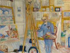 Ensor, pintor de lamascarada salvaje de la vida, en la Academia Real de Londres