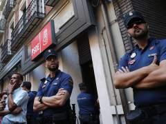 """El PSOE solicita """"apoyo policial"""" para el domingo"""