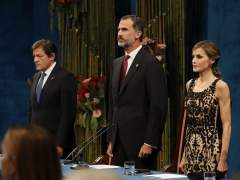 El rey evita los mensajes políticos en los Princesa de Asturias