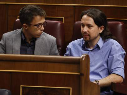 Errejón y Pablo Iglesias