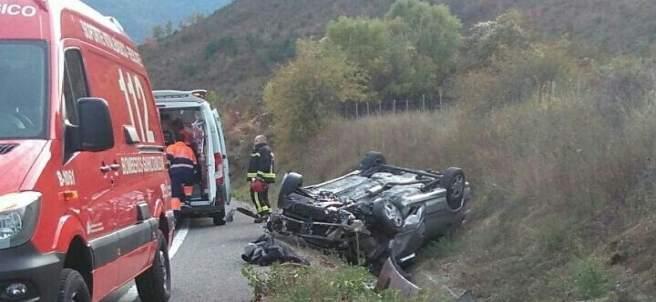 Accidente de tráfico en Navascues
