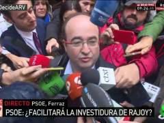 """""""No queremos aparecer al lado de Rajoy ni absteniéndonos"""""""