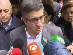 """Patxi López admite que el objetivo es """"no fracturar más al partido"""""""