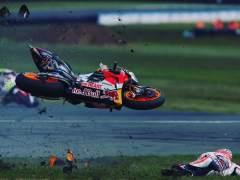 GP de Australia: Crutchlow vence tras la caída del campeón Márquez