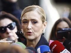 Cifuentes celebra la decisión del Comité del PSOE
