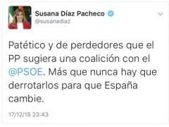 Tuit Susana Díaz