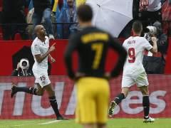 Primera derrota del Atleti esta temporada ante un Sevilla que fue mejor