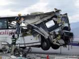 Autobús accidentado en California