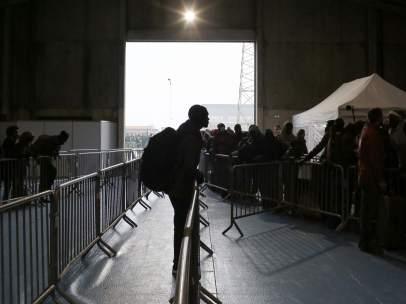 Inmigrantes desmantelamiento Calais, Francia