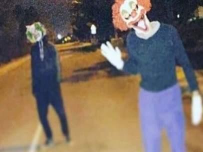 Payasos diabólicos en Paterna