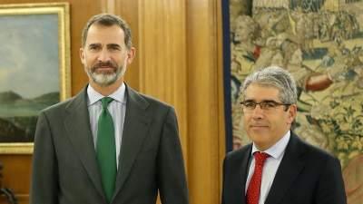 Francesc Homs con Felipe VI