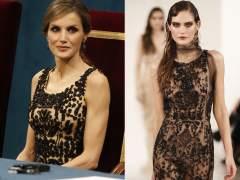 Polémica por un vestido de Varela para Letizia