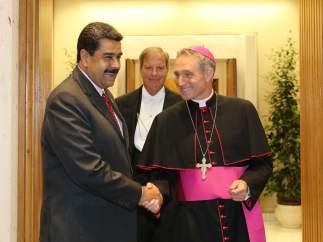 Maduro en el Vaticano