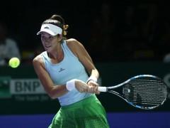 Muguruza desperdicia su ventaja ante Pliskova y cae en su debut en el Masters