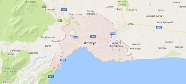 Explosión en Antalya