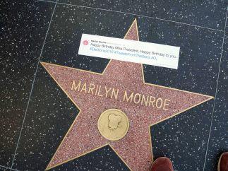 Marilyn Monroe y la 'Sra. Presidenta'