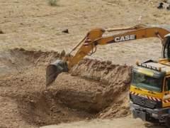Trabajos hoy en Alfacar buscan la fosa de Lorca