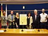 Foto de familia de representantes de la DPZ, ayuntamiento y organizadores.
