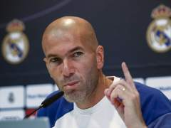"""Zidane: """"Me hace ilusión la Copa y a los jugadores también"""""""