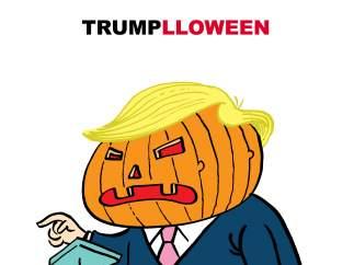 Trump y Halloween