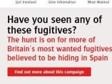 Página de la ONG Crime Stoppers