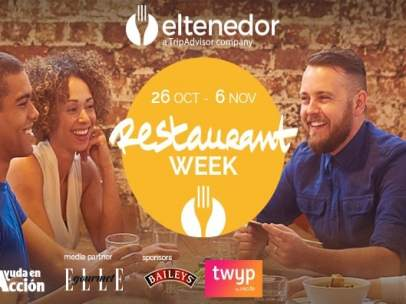 Cartel campaña Restaurant Week