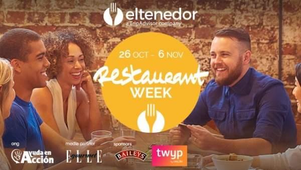 Cartel campaña Restaurant Week