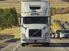 Un camión sin conductor hace su primera entrega