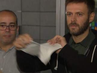 Oriol Lladó y Josep Téllez, concejales del Ayuntamiento de Badalona