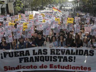 Jornada de huelga de enseñanza