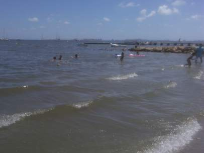 Mar Menor, playa
