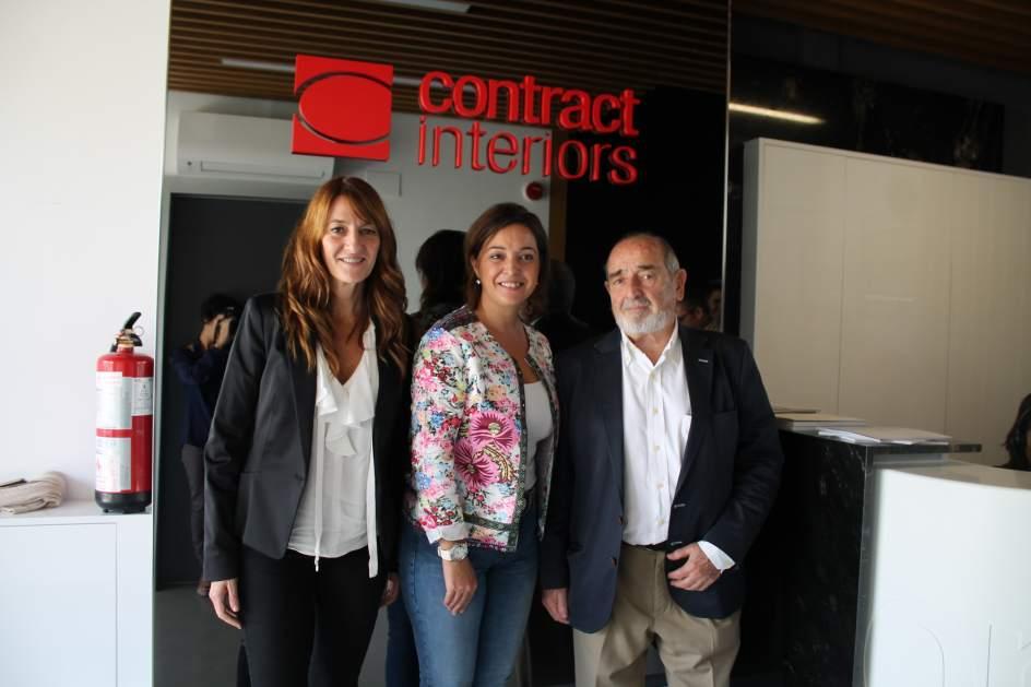Lovely La Alcaldesa Visita A Empresa Contract Interiors De