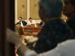 Tensa reunión de grupo parlamentario PSOE