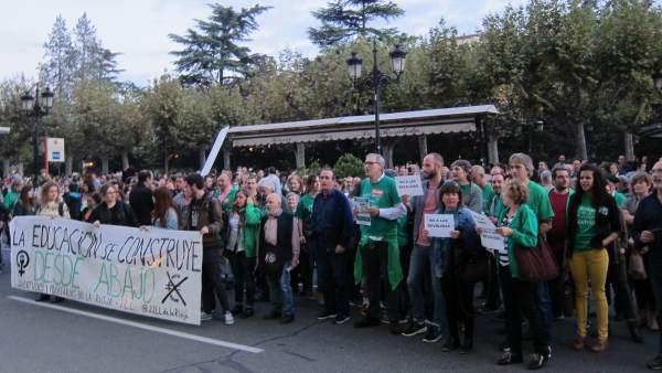 Manifestación Lomce