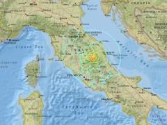 Un terremoto de magnitud 5,4 sacude Italia