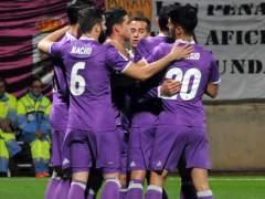 El Real Madrid se toma la Copa en serio y golea a la Cultural
