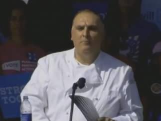 El chef español José Andrés.