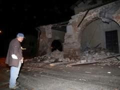 Tres fuertes terremotos sacuden el centro de Italia en las últimas horas