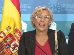 Manuela Carmena ya tiene el alta médica y asistirá este viernes al Pleno