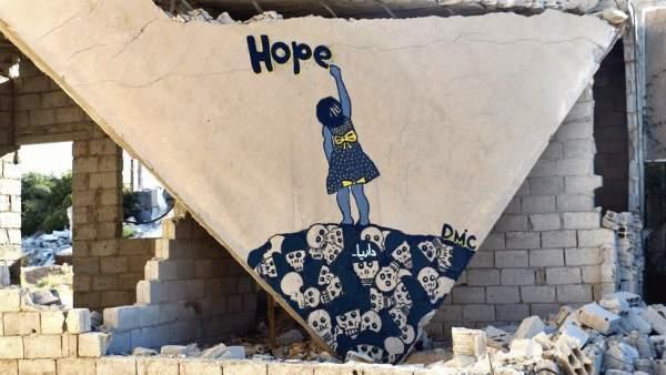 El Banksy sirio
