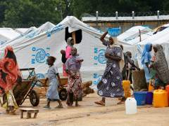 Desplazados internos en Bama (Nigeria)