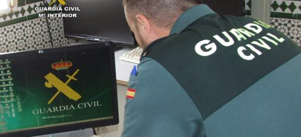 Guardia Civil investigando
