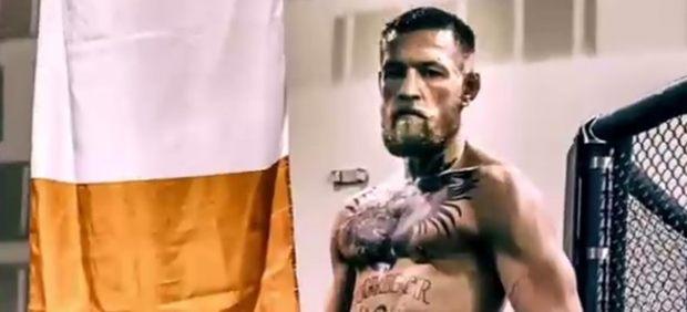 El luchador Conor McGregor