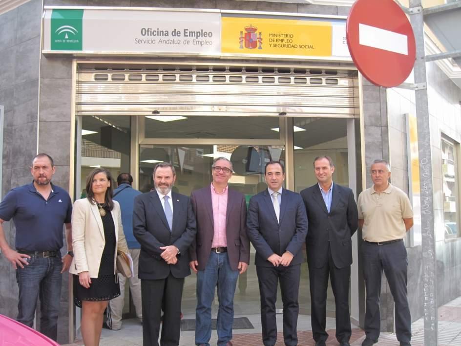 La junta invierte m s de euros en la nueva sede de la oficina del sae de bail n - Oficina empleo granada ...